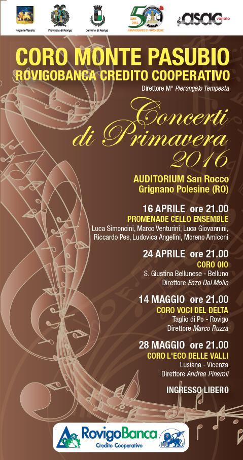 Concerto rovigo 24 aprile 2016